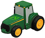 Green tractor Stress Balls